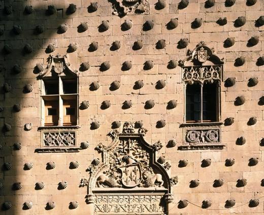 Stock Photo: 1566-0166007 Casa de las Conchas. Salamanca. Spain