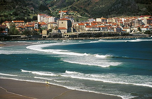 Stock Photo: 1566-0166264 Ria de Gernika. Urdaibai Biosphere Reserve. Mundaka. Bizkaia. Basque Country. Spain