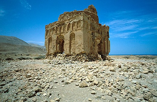 Bibi Myriam sanctuary. Qalhat. Sultanate of Oman. Middle East : Stock Photo
