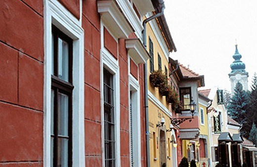 Pittoresque town of art. Szentendre. Hungary : Stock Photo