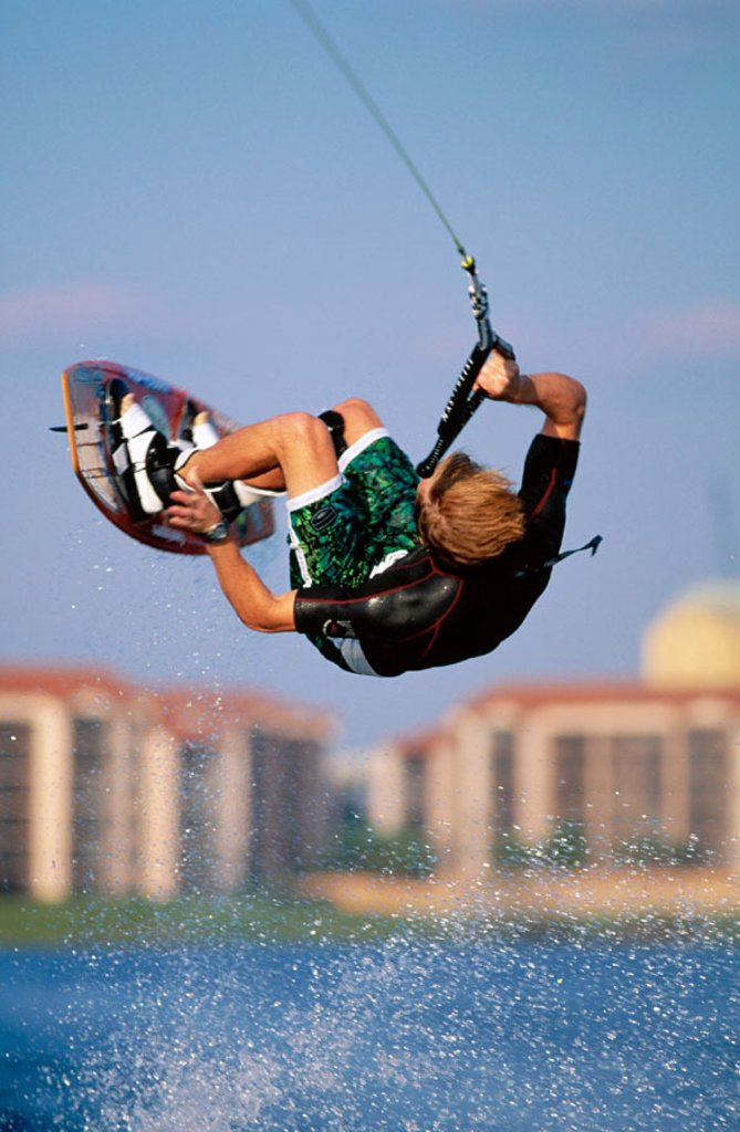 Stock Photo: 1566-016844 Wakeboarding. Winter Park. Florida. USA