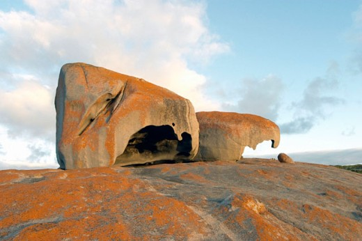 Remarkable Rocks,  Kangaroo Island, Australia : Stock Photo