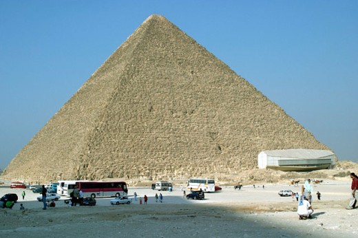 Pyramid. Giza. Egypt : Stock Photo