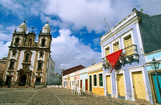 Stock Photo: 1566-0169474 Church of Sao Pedro dos Clerigos in ´Sao Pedro´ Square. Recife. Pernambuco. Brazil