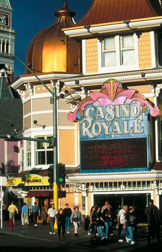 Stock Photo: 1566-0169854 Casino in The Strip. Las Vegas, USA