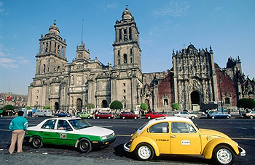 Cathedral. Mexico City. Mexico. : Stock Photo