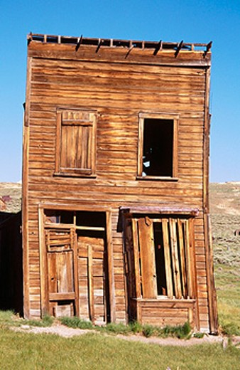 Stock Photo: 1566-0172230 Bodie Ghost Town. California, USA
