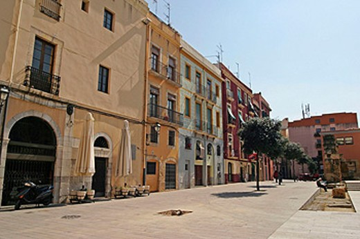 Stock Photo: 1566-0173778 Fòrum Provincial square dating from 1st century A.D. Tarragona. Spain