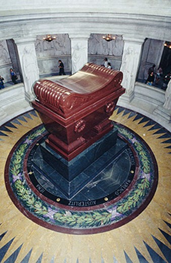 Tomb of Napoleon. Hotel des Invalides. Paris. France : Stock Photo