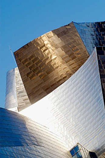 Guggenheim Museum by Frank O. Gehry. Bilbao. Biscay, Spain : Stock Photo