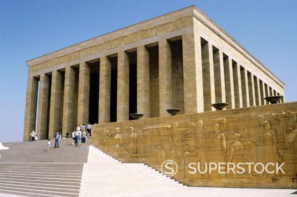 Stock Photo: 1566-0175819 Anit Kabir (Ataturk´s mausoleum). Ankara. Turkey