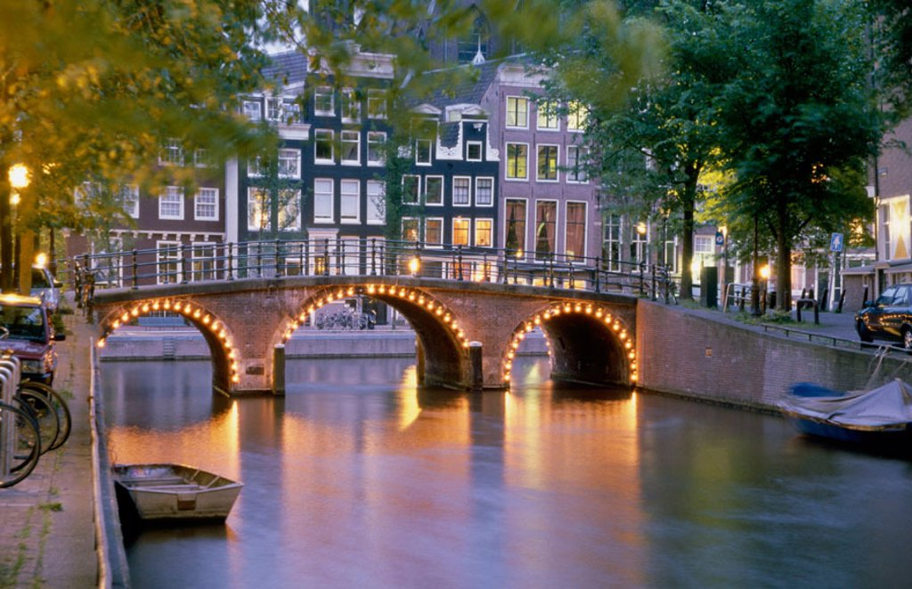 Amsterdam. Holland : Stock Photo