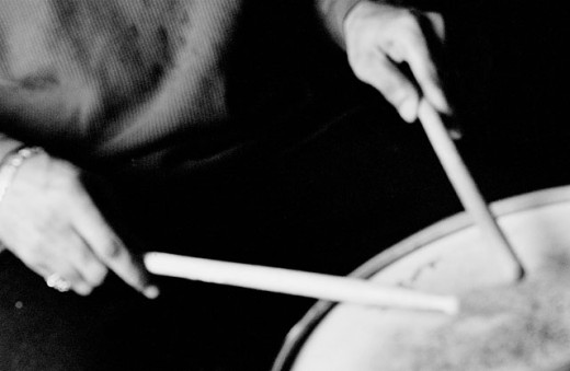 Stock Photo: 1566-017731 Drummer