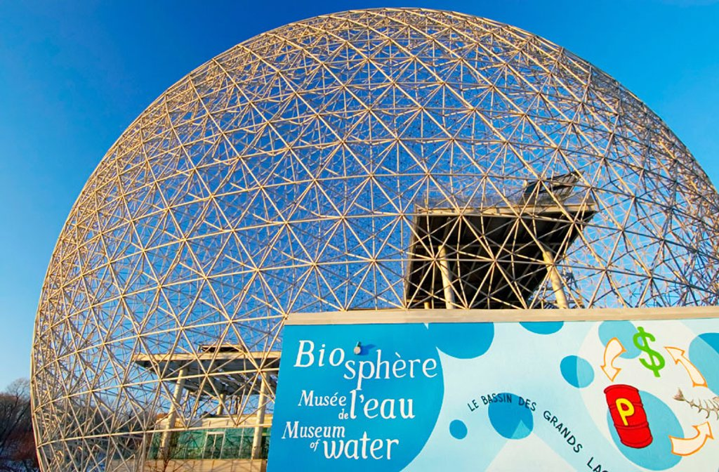 Montreal biosphere the spherical buckminster fuller - The geodesic dome in connecticut call of earth ...