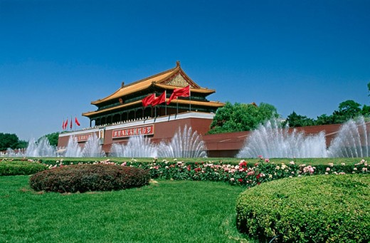 Stock Photo: 1566-0179072 Tiananmen, Gate of heavenly peace. Beijing. China