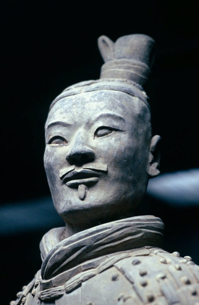 Stock Photo: 1566-0179104 Terracotta Warrior, Xian, Shaanxi, China.