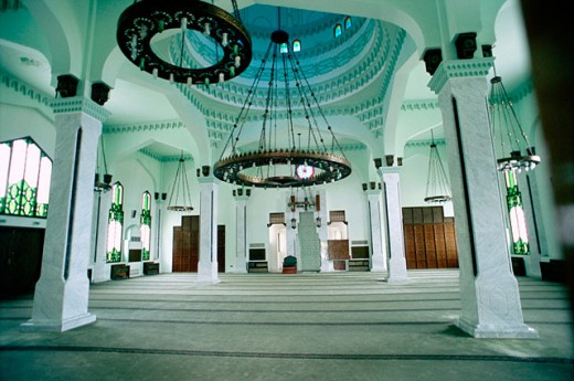 Gibraltar´s mosque. Gibraltar. UK : Stock Photo