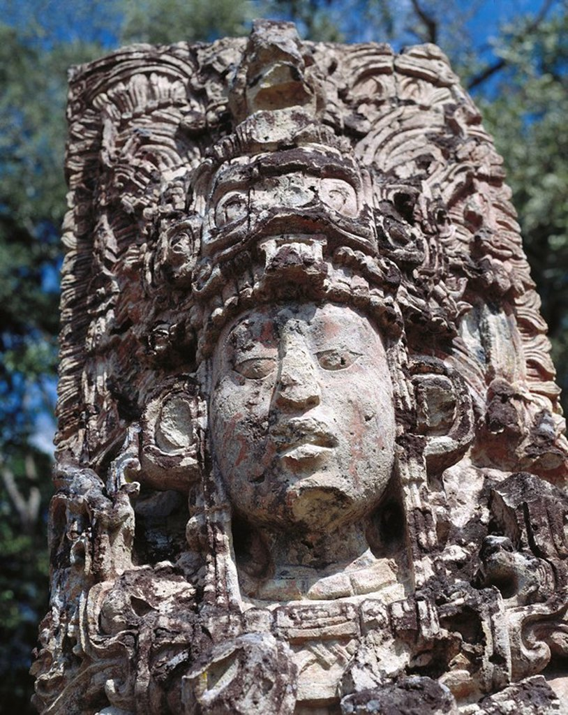Copán Mayan ruins. Honduras : Stock Photo