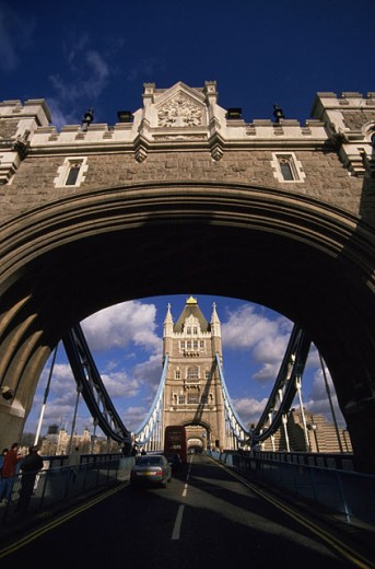 Stock Photo: 1566-0180752 Tower Bridge. London. England