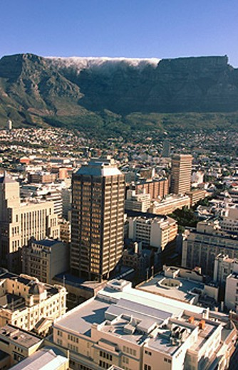 Downtown & financial center. Cape Town. South Africa : Stock Photo