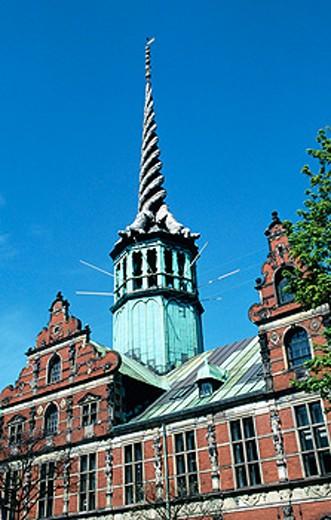 Old Stock Exchange. Copenhagen. Denmark : Stock Photo