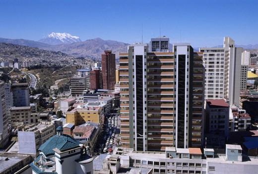 Stock Photo: 1566-0181542 La Paz. Bolivia