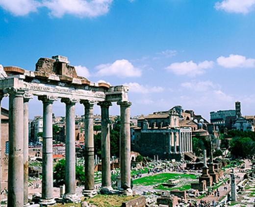 Roman Forum. Rome. Italy : Stock Photo