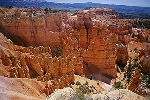 Stock Photo: 1566-0183717 Navajo Loop. Bryce Canyon National Park. Utah. USA