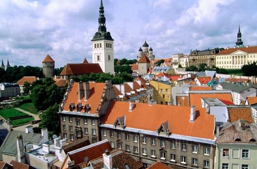Stock Photo: 1566-0183898 Tallinn. Estonia