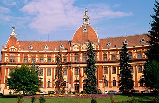 District Council. Brasov. Romania : Stock Photo