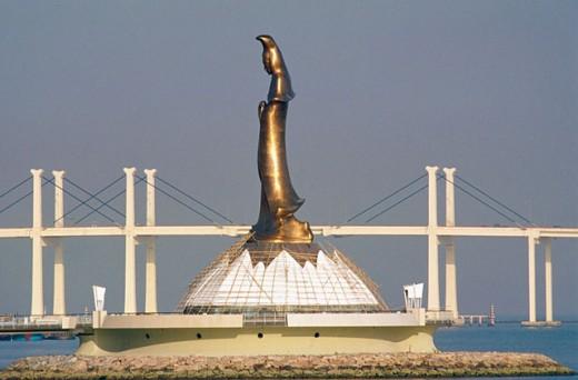 Kun Lam statue. Macau. China : Stock Photo