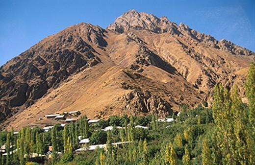 Alborz Mountains landscape. Iran : Stock Photo