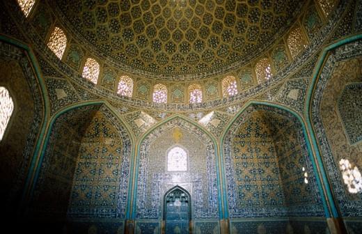 Stock Photo: 1566-0184358 Sheykh Lotfollah Mosque. Emam Khomeini Square. Esfahan. Iran