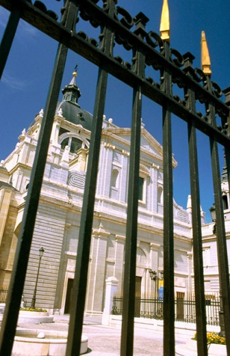 La Almudena cathedral. Madrid. Spain : Stock Photo