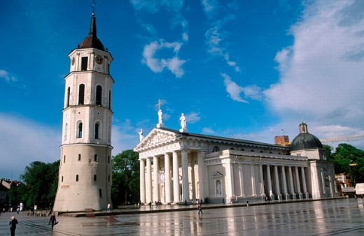 Stock Photo: 1566-0186268 Cathedral. Vilnius. Lithuania