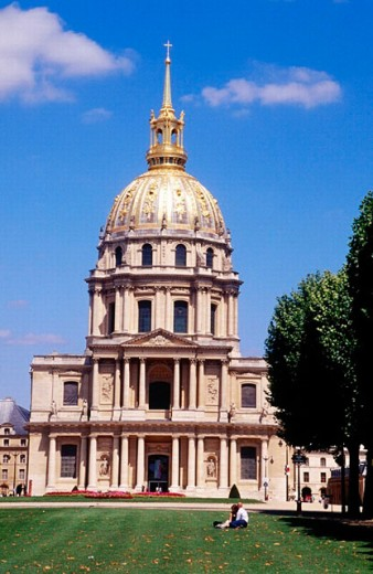 Hôtel des Invalides. Paris. France : Stock Photo