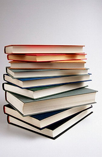 Stock Photo: 1566-0188264 Books.