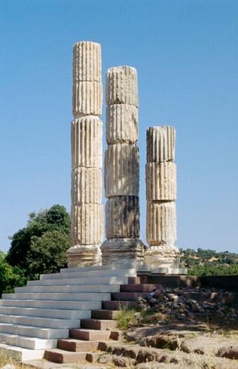 Apollon Temple : Stock Photo