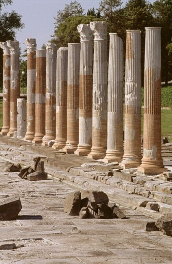 Stock Photo: 1566-0189041 Roman Forum. Aquileia. Friuli-Venezia Giulia, Italy