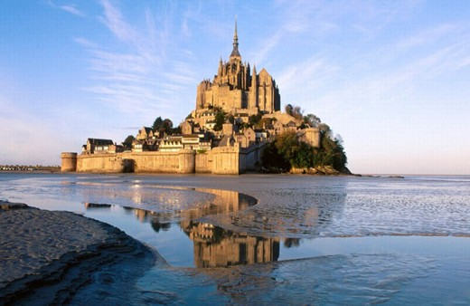 Mont Saint Michel. Normandie, France : Stock Photo