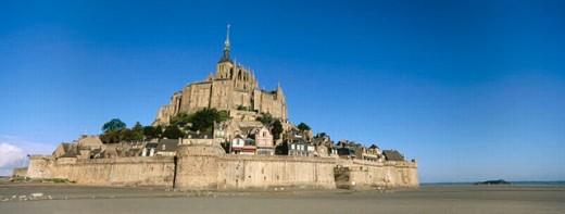 Mont Saint Michel. Normandie, France : Stock Photo