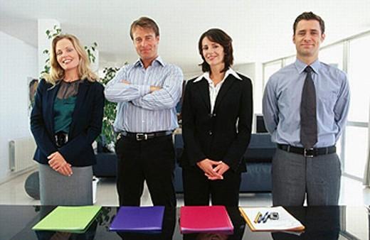 Stock Photo: 1566-0189944 Working team
