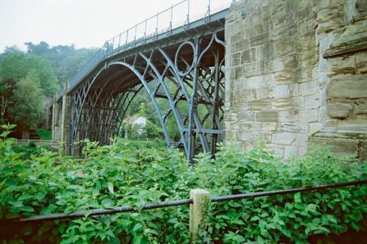 Ironbridge, a World Heritage site. Near Manchester. England. UK. : Stock Photo