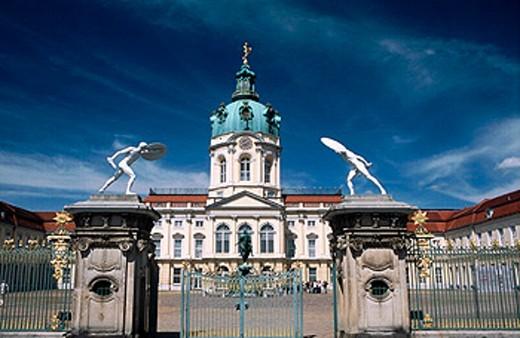 Stock Photo: 1566-0192074 Charlottenburg Palace. Berlin. Germany