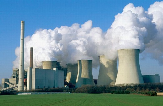 Coal-fired power station. North Rhine Westphalia, Germany : Stock Photo