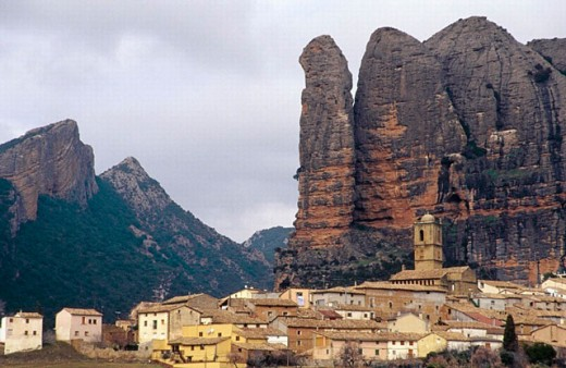 Agüero. Huesca. Spain. : Stock Photo