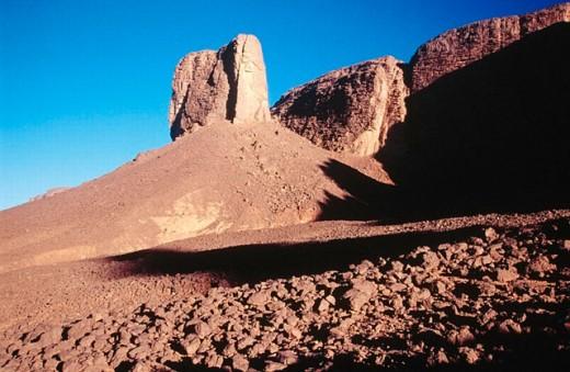 Tassili n´Ajjer. Algeria : Stock Photo