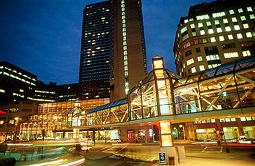 Prudential Center. Boston. USA. : Stock Photo