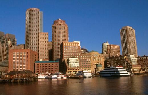 Boston. USA. : Stock Photo