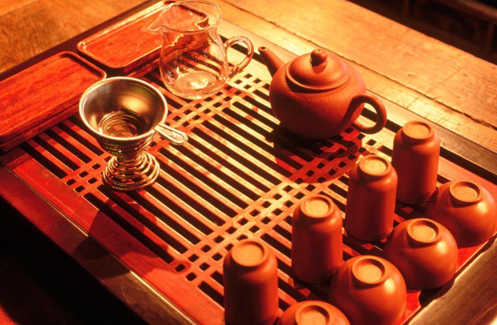Stock Photo: 1566-0194330 Traditional tea house. Shanghai. China.